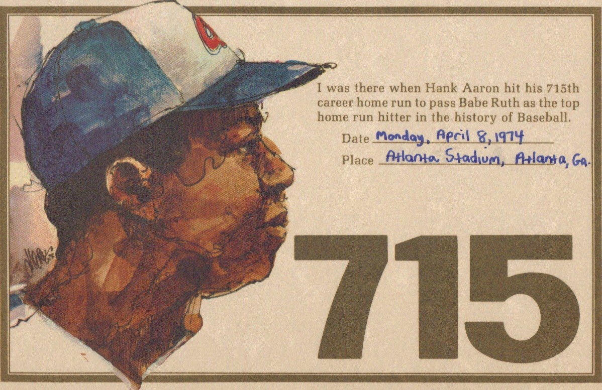 Image result for hank aaron becomes baseballs home run king 1974