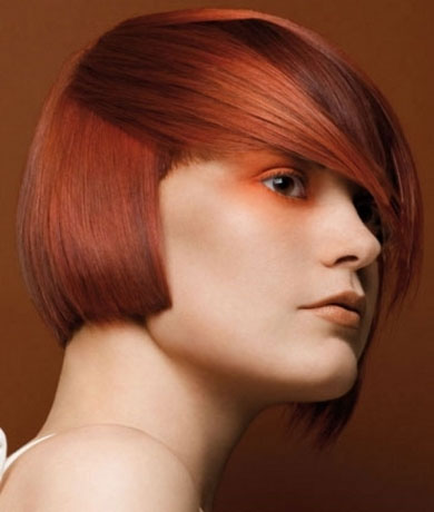 Fiery Ginger Hair Color 2014