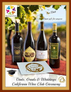 Enter to win 1 of 25 California Wine Club memberships, ends 6/17