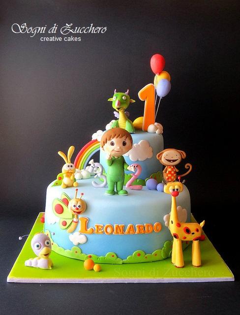 Baby Tv Cake Images : sogni di zucchero: Baby TV Cake