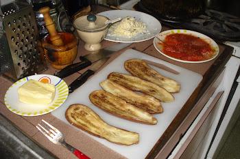 Berengenas a la parmesana