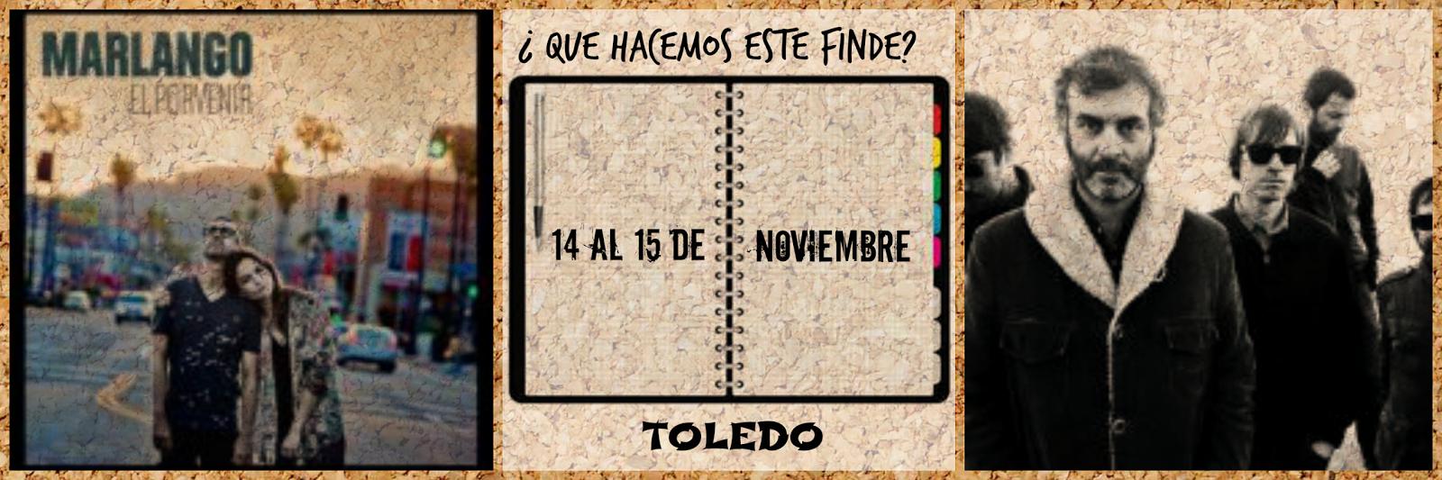 Conciertos, Monólogos, Opera en Noviembre en Toledo. Marlango y La Habitación Roja