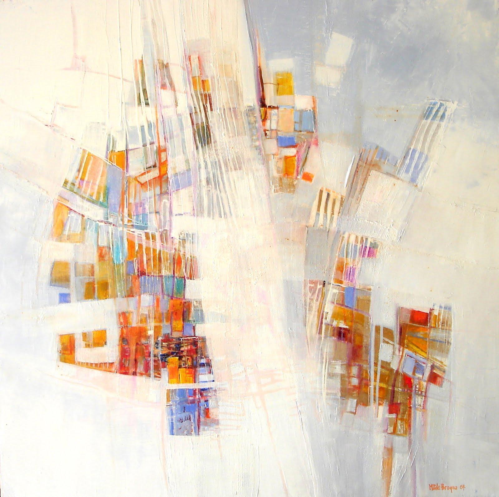 Parcelles d'étoiles - 70 x 70 cm - 2004