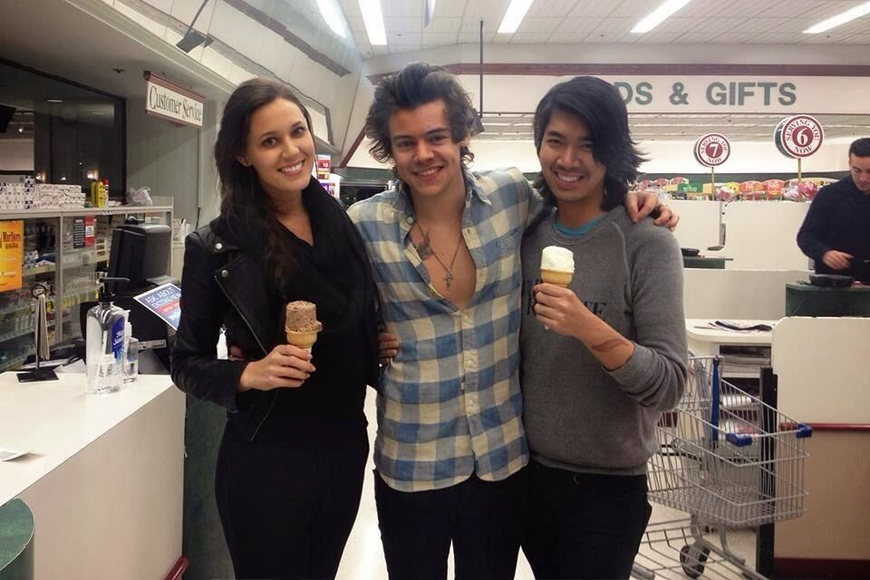 one direction, 1d, harry styles, 07.01.14, los angeles, fans