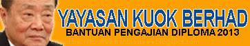 Bantuan Kewangan Pengajian Diploma 2013 Yayasan Kuok Berhad