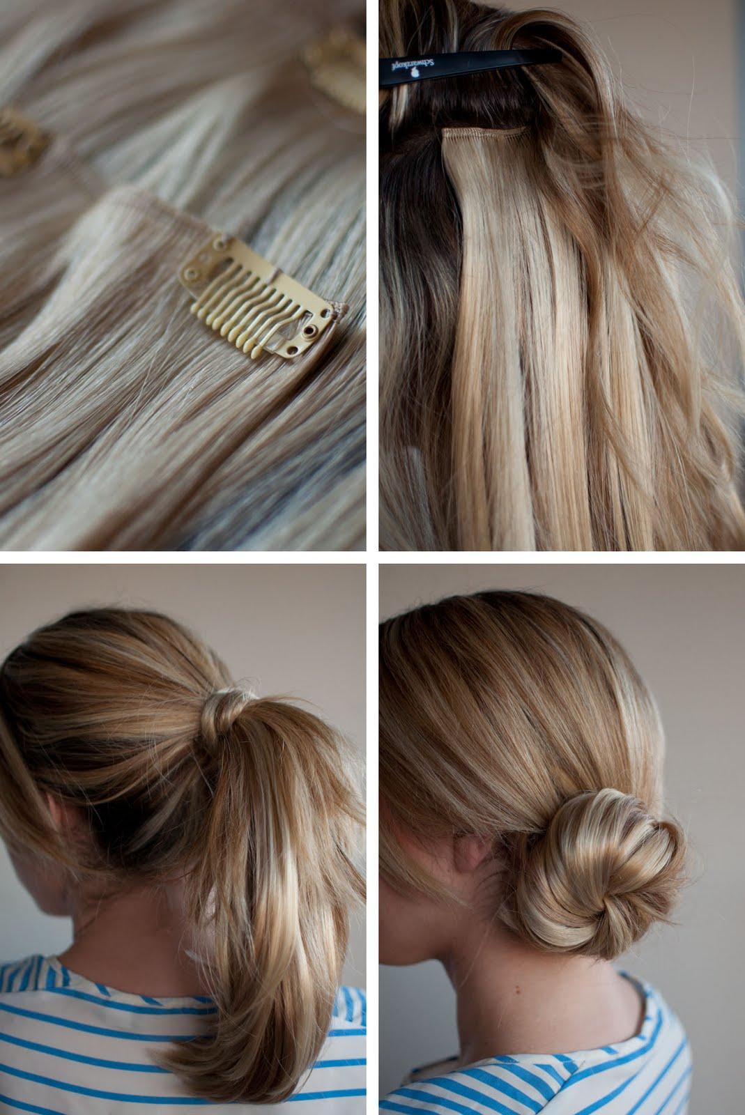 Причёски из прядей на заколках