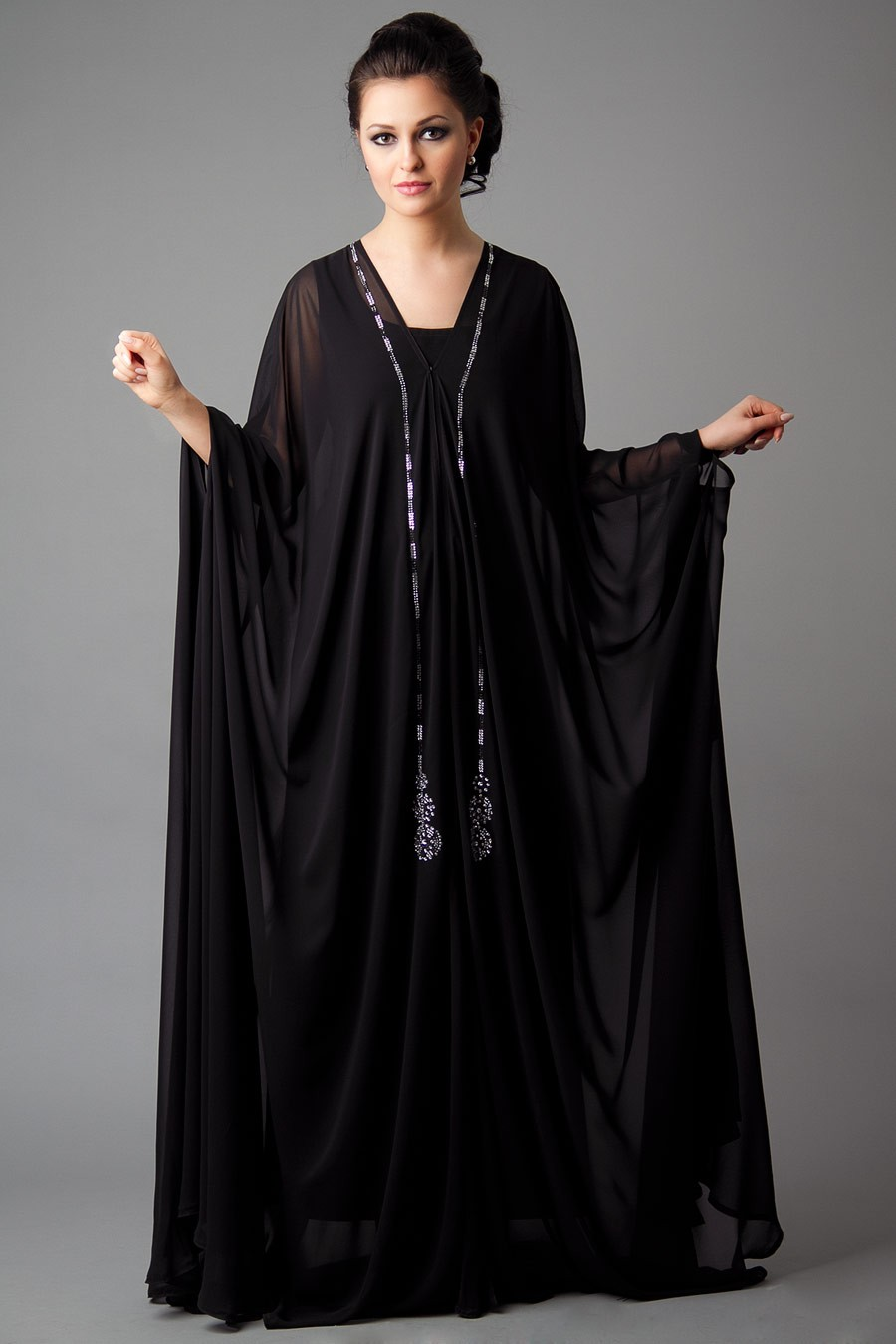 Designer embroidered abaya collection 2013 2014 new abaya collection