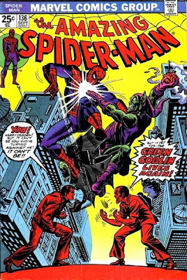 Amazing Spider-Man #136, Harry Osborn, the New Green Goblin