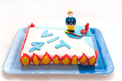 Torta Gasilec - Fireman cake