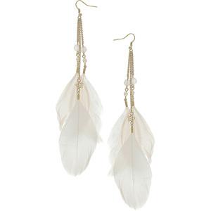 Feather Earrings wallpaper
