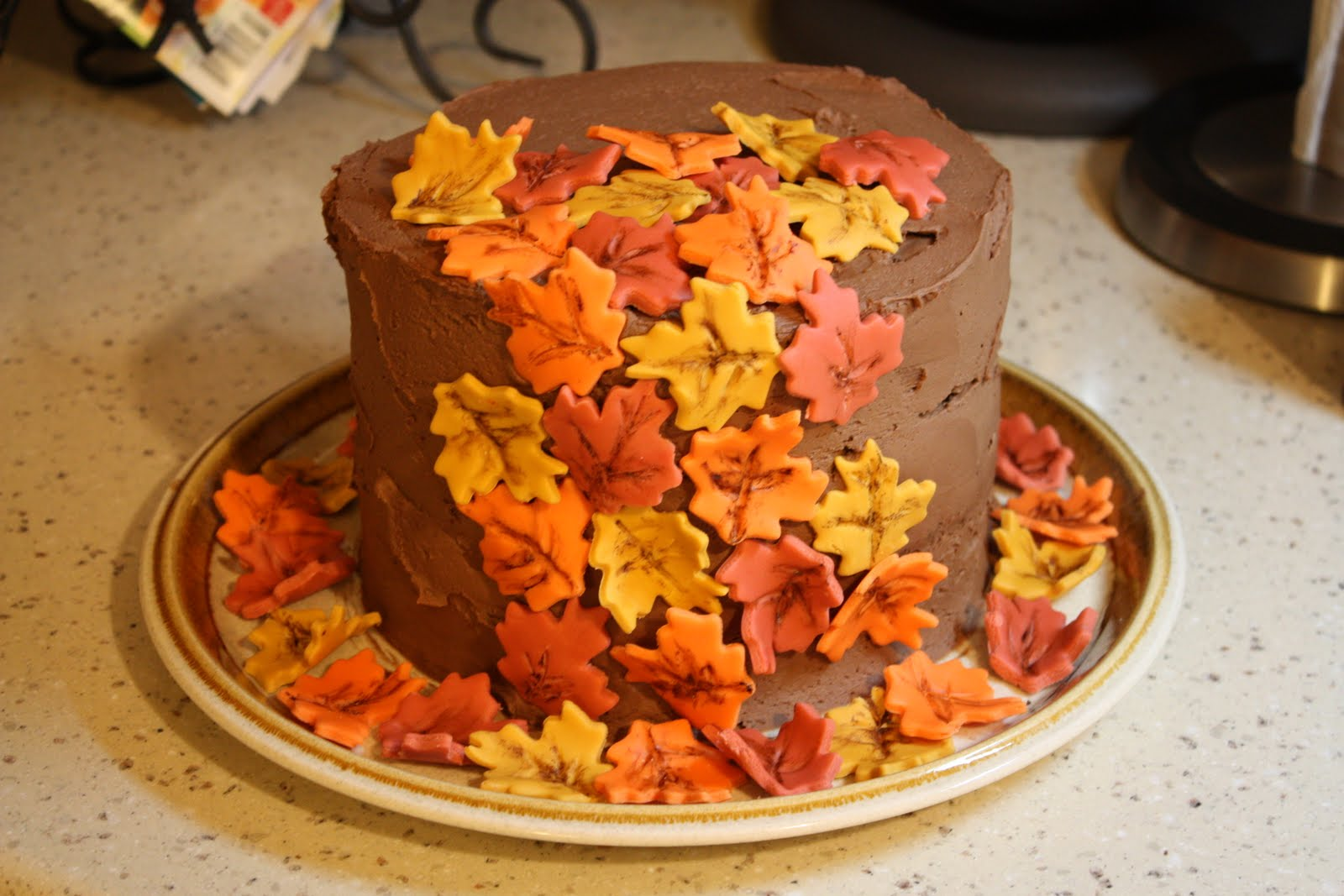 A Legacy of Love Chocolate Fall Birthday Cake