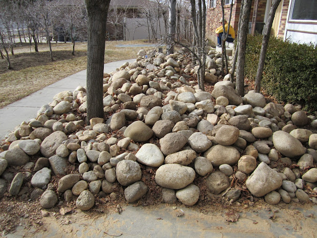 free landscape rocks and fill dirt