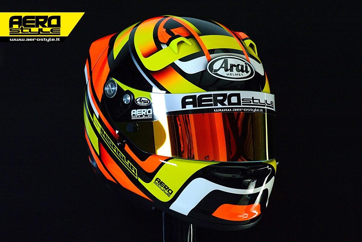 Racing Helmets Garage Arai Sk 6 Sinigaglia 2014 By