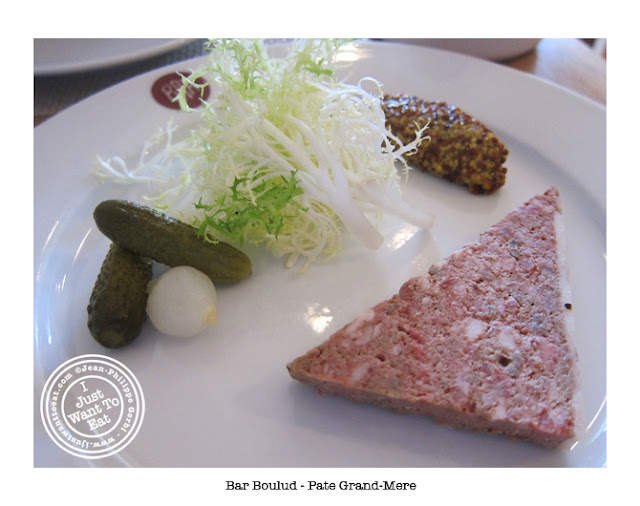 Image of Pate grand mere at Bar Boulud in NYC, New York