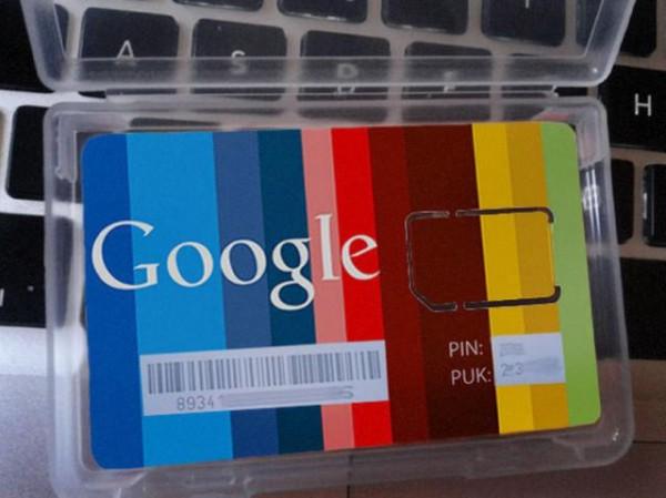 google brand new sim