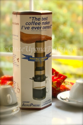 DRAWING: AeroPress Coffee Maker ~ Drawing Winner