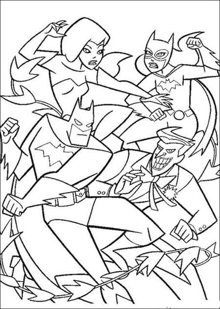 New Batman Coloring Pages Free for Kids title=