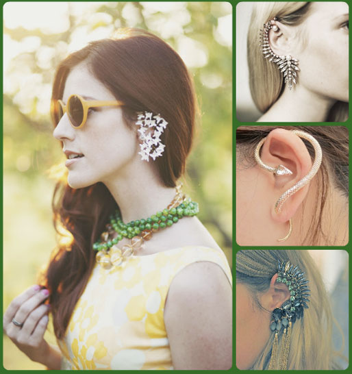 style of your own blog, tulip louise, river island ear cuff, snake ear cuff