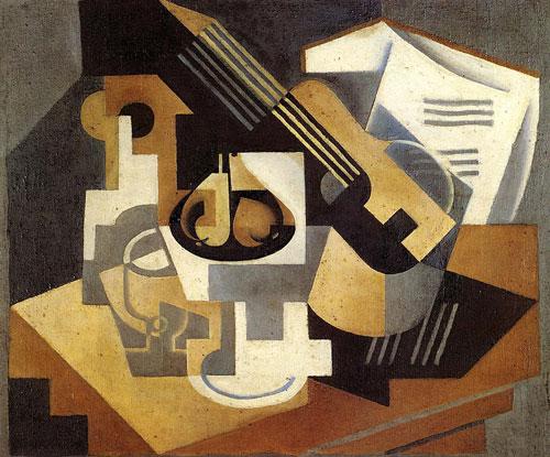 lukisan karya Juan Gris