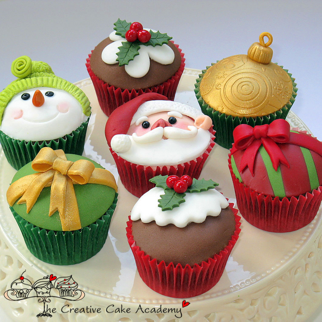 Cake With Cupcake Recipe : Best Recipes: Chirstmas cake : Christmas cupcakes recipe