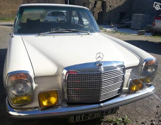 Mercedes 220e 1972 Classic Car
