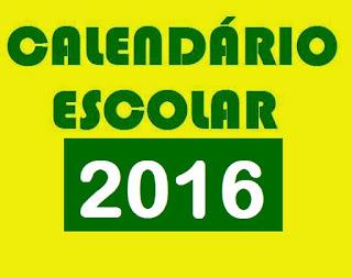 Minuta da Resolução do Calendário Escolar para o ano de 2016
