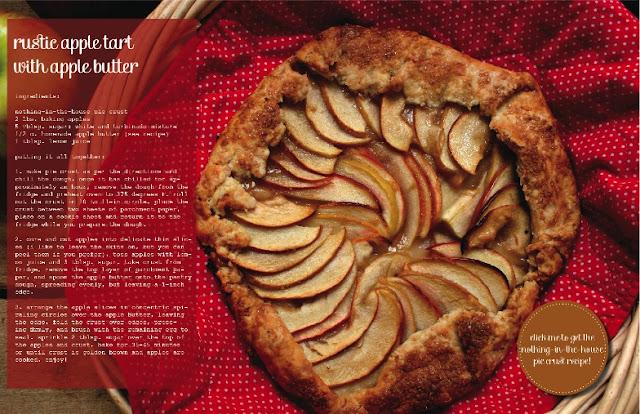 Rustic Apple Tart with Apple Butter in Luri & Wilma