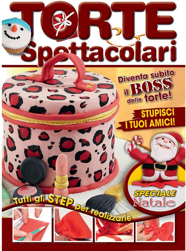 dal 10 dicembre sara in edicola il secondo numero di questa nuovissima rivista di cake design era ora che anche in italia il cake decorating iniziazze a