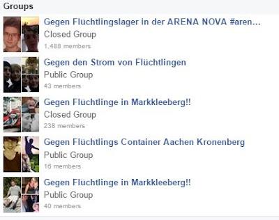 Facebook Nazi Abschaum