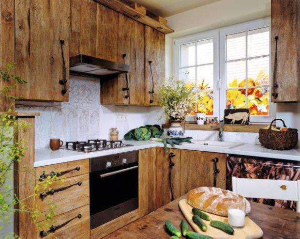 blog dla ludzi z wnętrzem STYL RUSTYKALNY -> Kuchnie W Rustykalnym Stylu