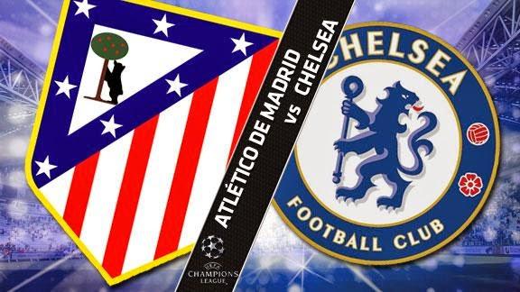 REPETICION ATLETICO MADRID VS CHELSEA, Goles, Resultados, Estadisticas, Online