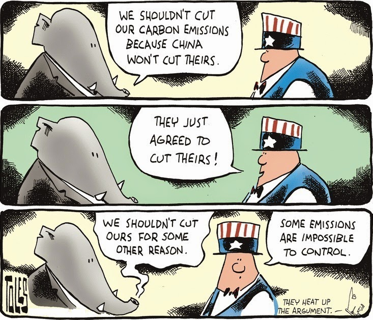 Tom Toles: Some other reason.