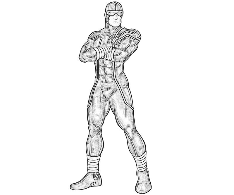 marvel-ultimate-alliance-2-cyclops-look-coloring-pages