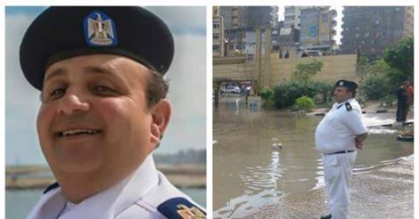 كلام لا يصدق من زوجة ضابط الإسكندرية بعد عاصفة السخرية عليه