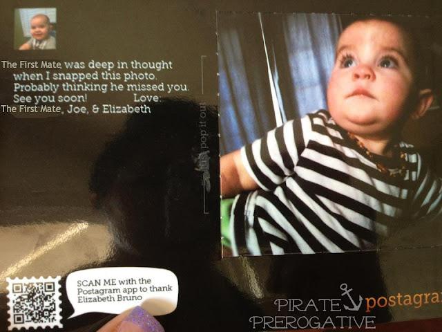 Postagram photo postcard
