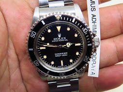 ROLEX SUBMARINER NO DATE 5513 - MINTS CONDITION