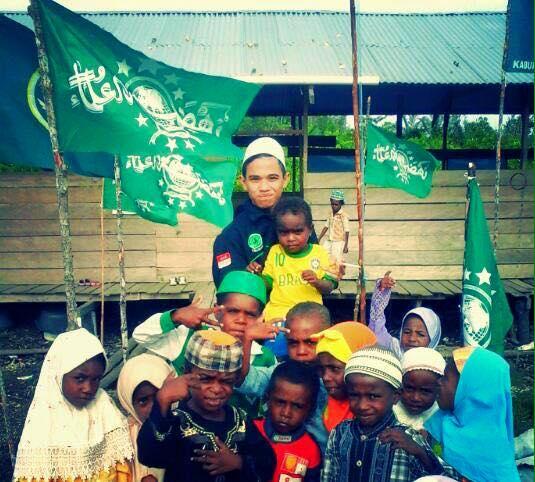 Aktivitas dakwah NU di pedalaman Papua, semoga diberikan keberkahan
