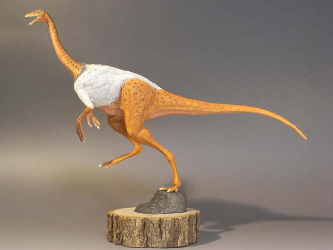 恐竜・古生物模型作品ギャラリー: <b>ストルティオミムス</b> <b>...</b>