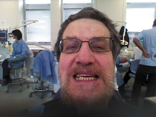 RWH in the dentist's chair