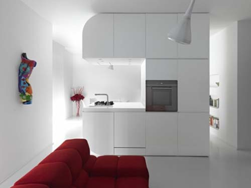 Apartment, Design, Themed Space Odyssey, Romolo, Luxury Apartment