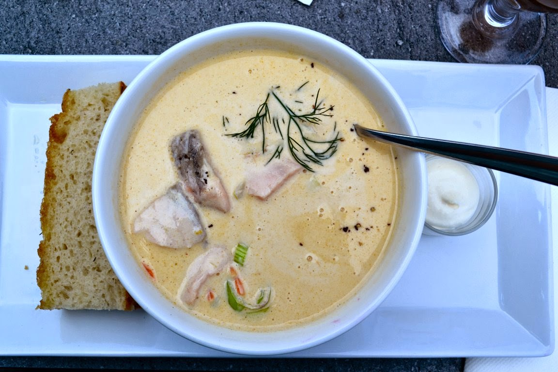 Velvety Norwegian Fish Soup - Fiskesuppe (own photo)