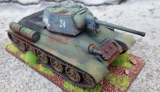 Plastic Soldier Company Russian T-34 PSC 1/72 scale
