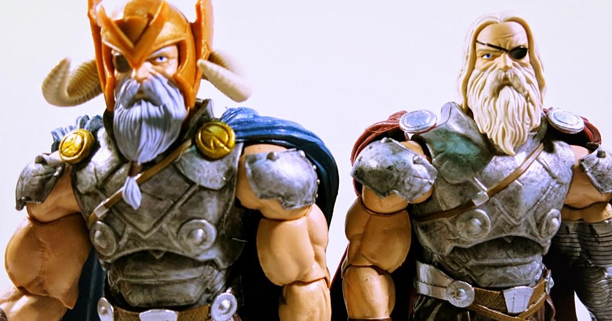 marvel legends iron fist from allfather odin wave NO BAF PIECE