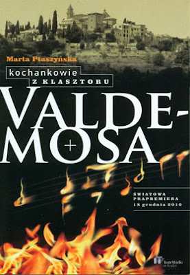 Poster for Marta Ptaszynska's Opera Lovers from the Valdemosa Monastery