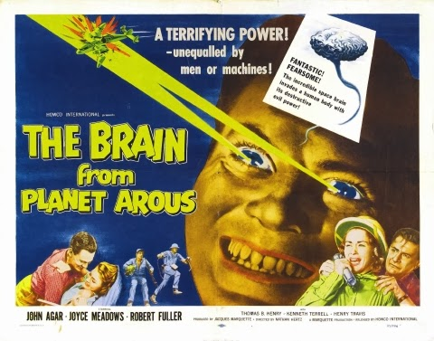 Poster - The Brain from Planet Arous (1957)