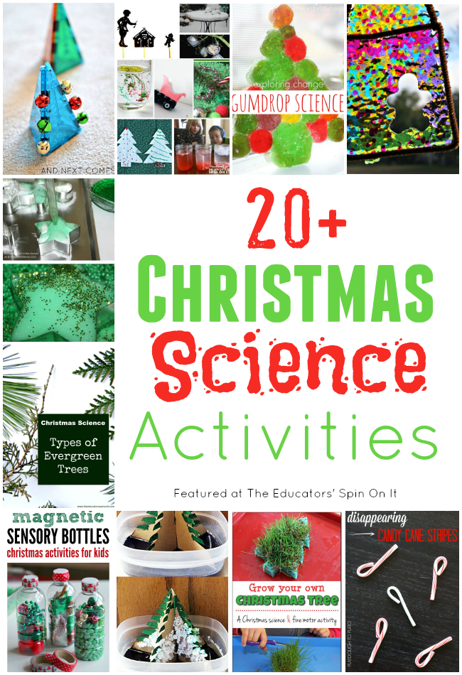 20+ Christmas Science Activities for Kids featured at The Educators ...