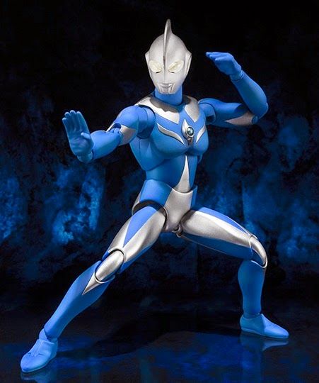 ultra act action figures bandai cosmos