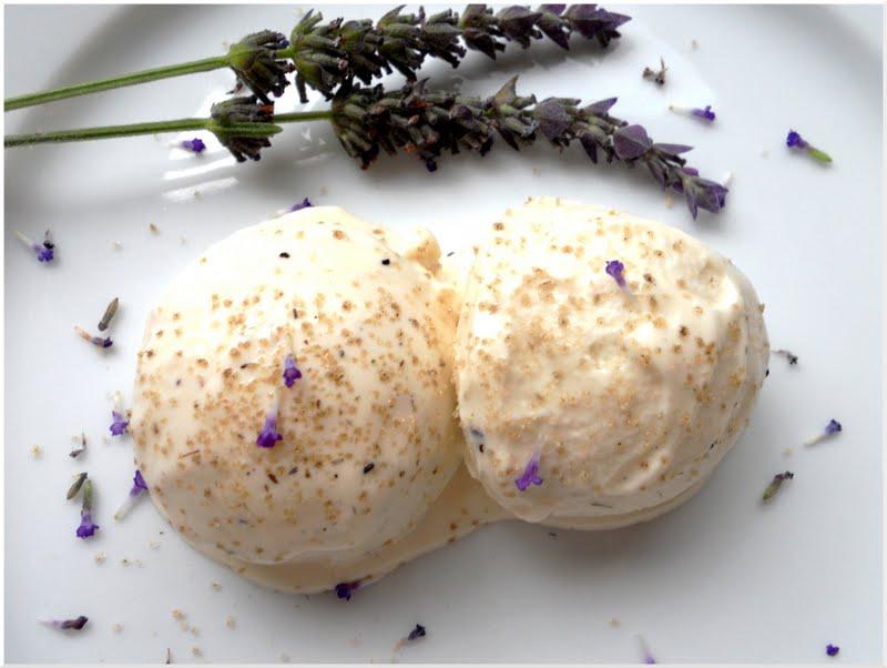 Lavender vanilla yogurt