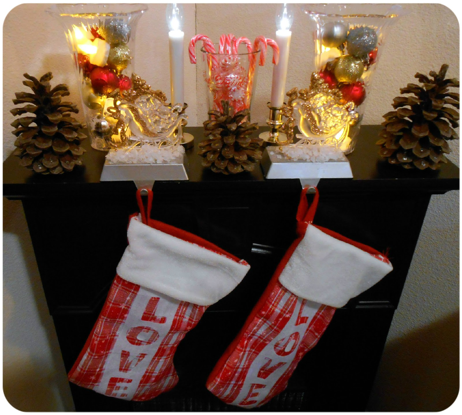 dollartreechristmastreechristmasmanteldollarstore - Dollar Tree Christmas Decorating Ideas
