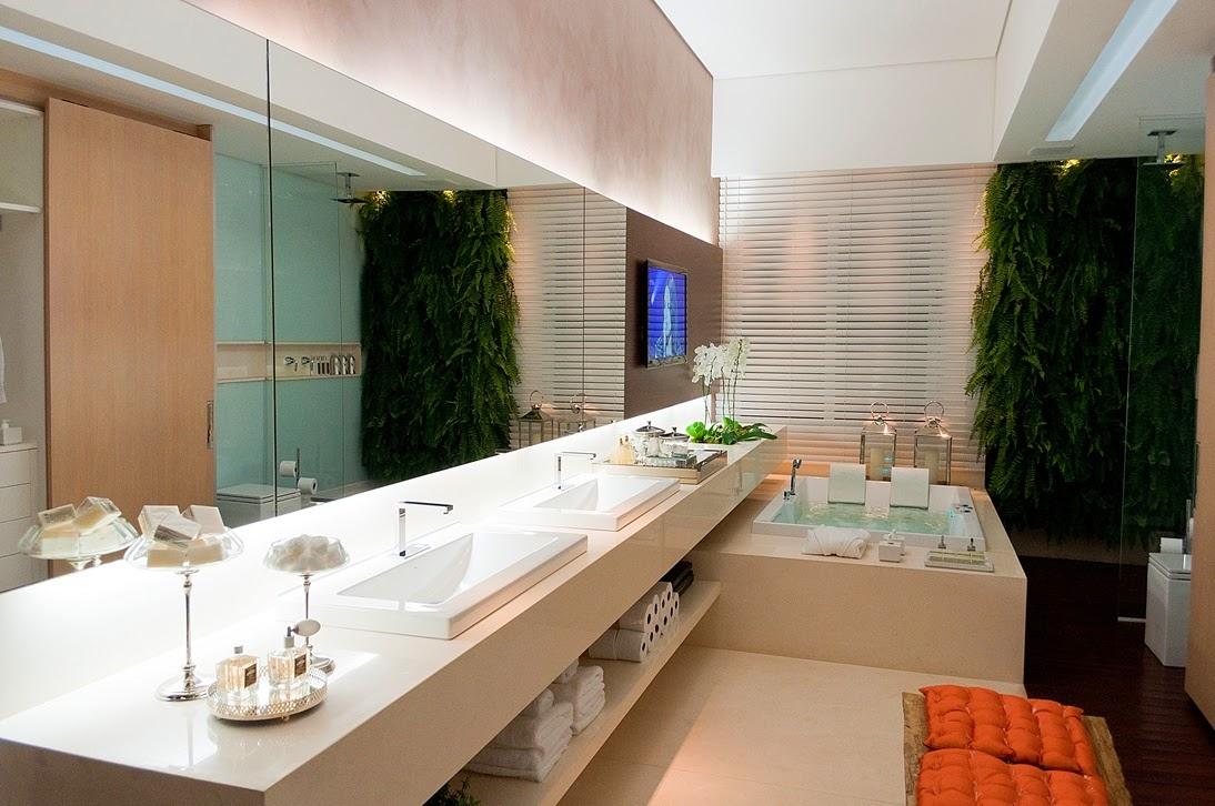 40 bancadas de banheiros lavabos veja modelos modernos e - Fotos lavabos modernos ...